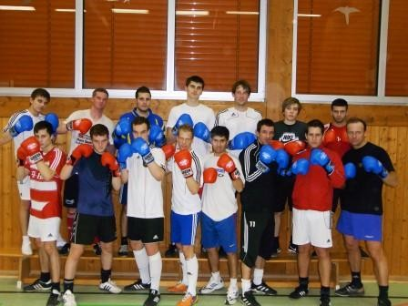 Box- Einheit mit Boxlehrer Andreas Czorniczek