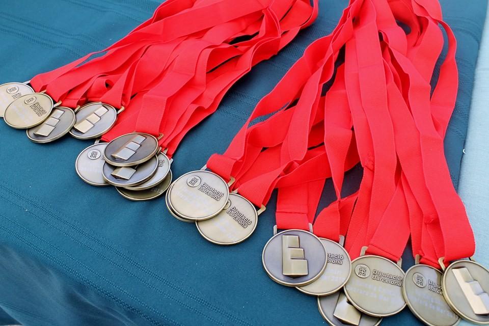 Medalles per les participants