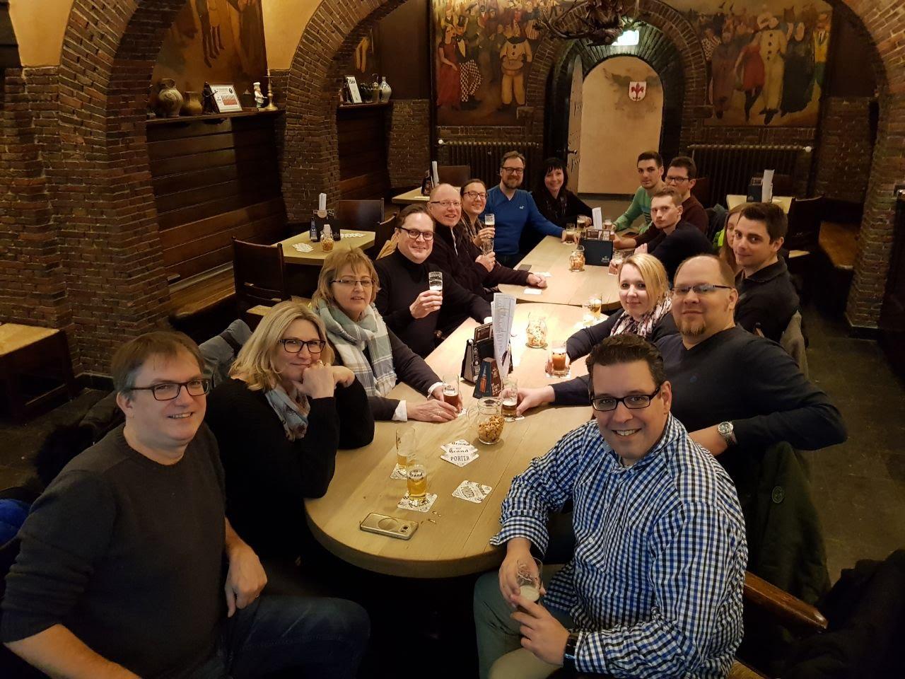 Brauereiausflug zu Brand-Bier Herbst 2017