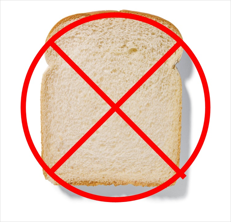 "Interestingly the white bread we tested had the following as it's 4 main ingredients: bleached wheat flour, sugar, vegetable oil and sodium chloride. 4 out of 6 of our ""food devils"" - the 2 remaining being commercial soy and cheap dairy"