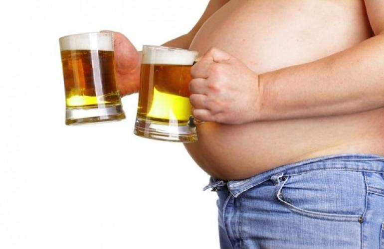 The classic beer belly that can lead to digestive distress, an inflamed gastrointestinal tract, visceroptosis, crowded organs and ultimately back pain.