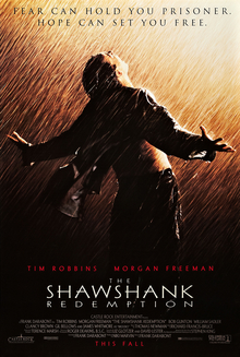 The Shawshank Redemption (robbed of the 1995 Oscar by Forest Gump)