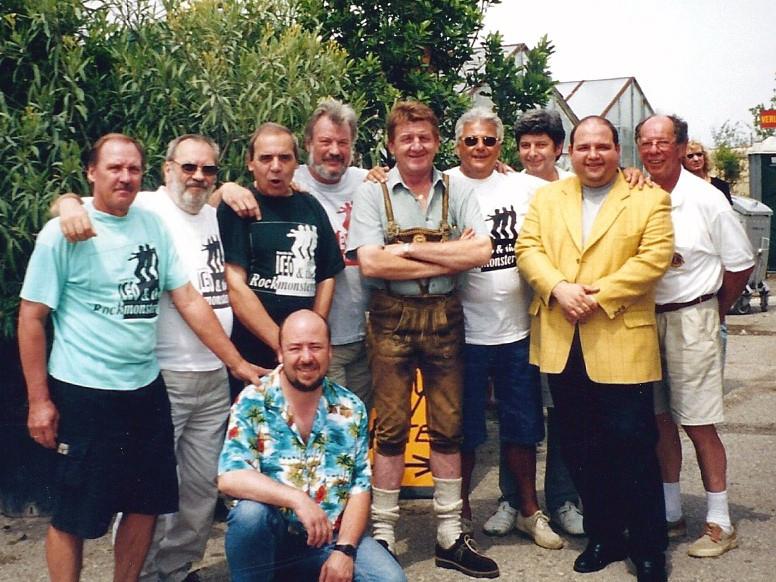 Rockmonsters mit Hias (Erich Mathias Mayer) und Gerald Pichowetz