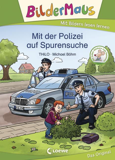 Bildermaus - Mit der Polizei auf Spurensuche - von THiLO, erschienen 2020 im Loewe Verlag