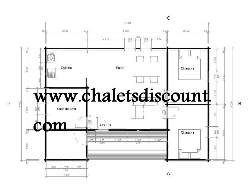Chalet Jade 70 M²