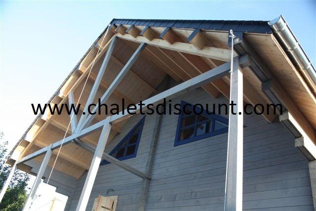 Chalet Uriel 53 m² en Bretagne