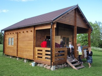 Chalet en kit Camping2