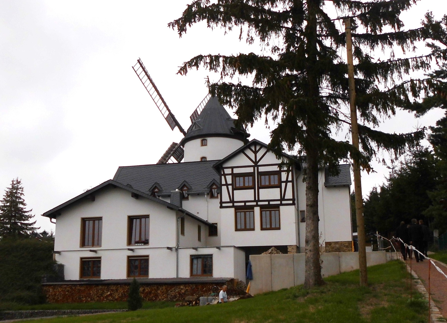 Holländerwindmühle in Possendorf