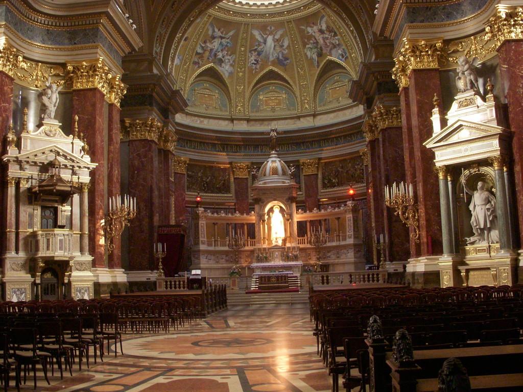 聖イシュトバーン大聖堂内部