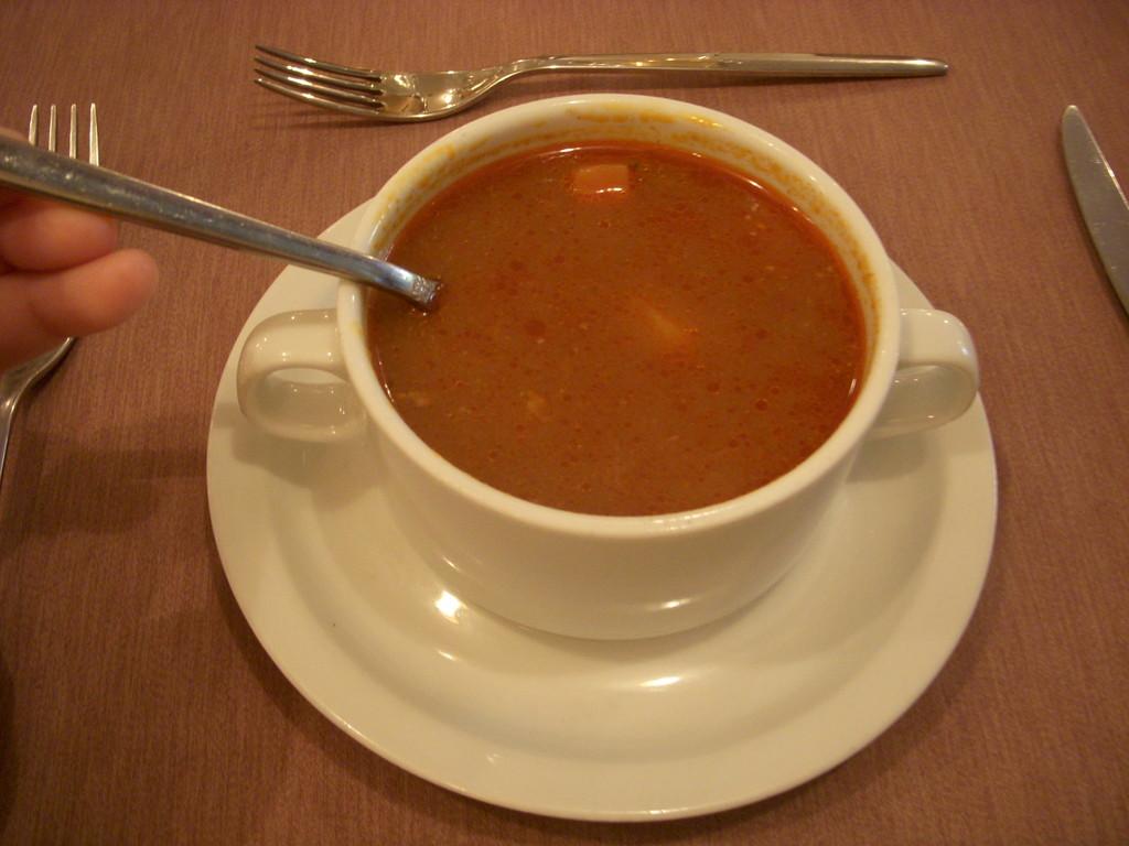 グヤーシュスープ