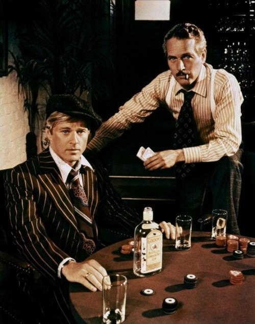 """""""El golpe"""" Paul Newman y Robert Redford"""