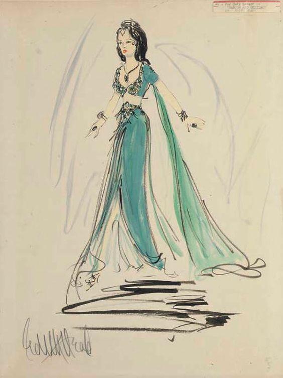 Diseño de vestuario para Sansón y Dalila