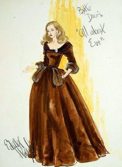 Diseño de vestuario para Eva al desnudo