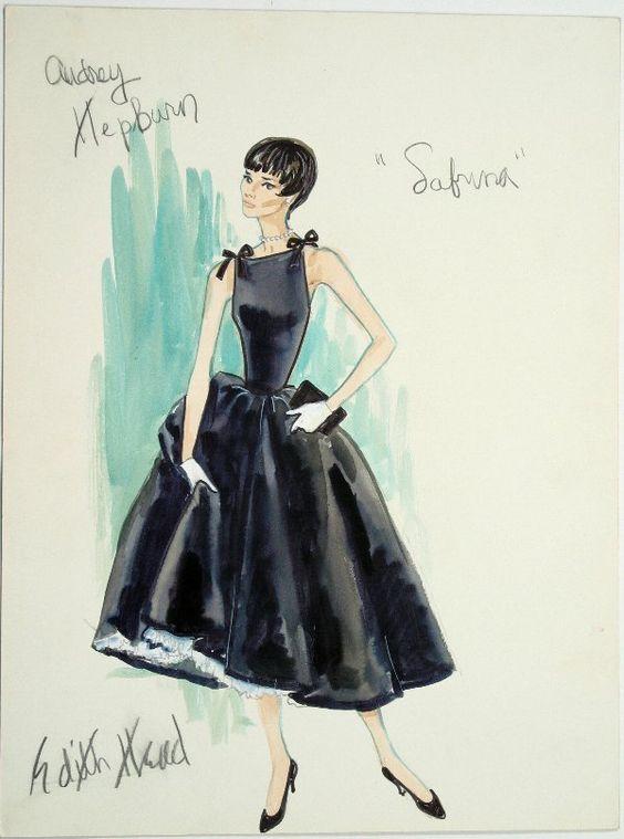 Diseño de vestuario para Sabrina
