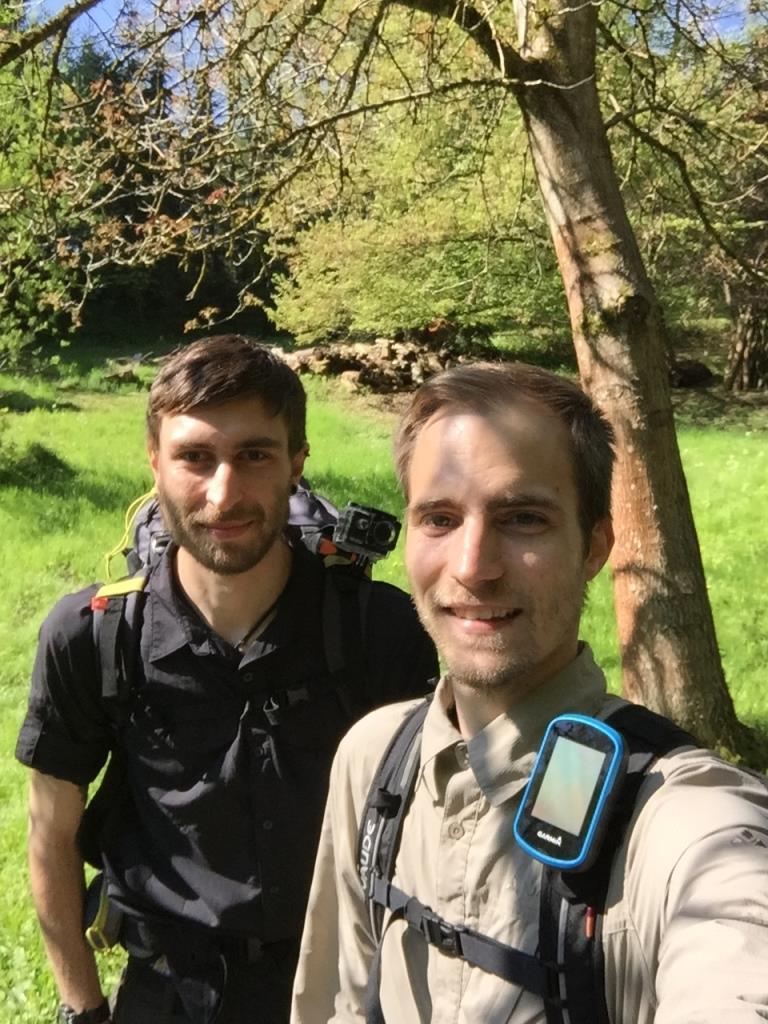 Trekkingtour mit GPS-Navigation