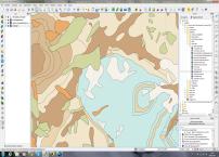 geology on qgis