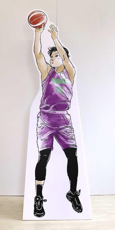 【バスケ少年】高175・幅55cm