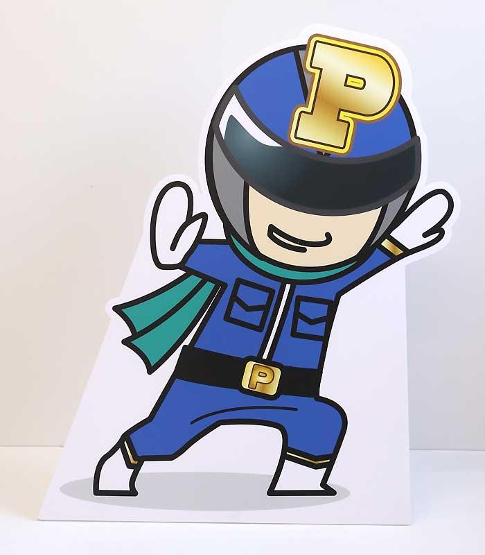 【パネルマン(ブルー)】