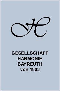 Logo der Gesellschaft Harmonie Bayreuth