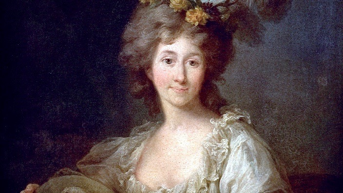 Dorothea von Kurland (1761–1821) – Gemälde von Marcello Bacciarelli (1731–1818)