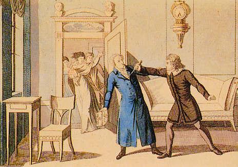 Ermordung Kotzbues (Zeitgenöss. Kupferstich)
