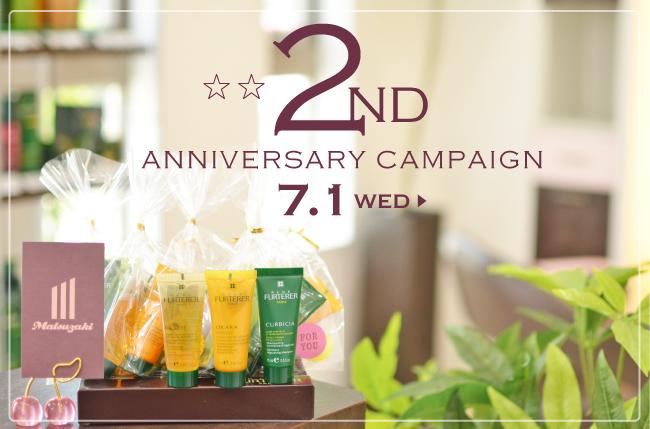 2th anniversary campaign