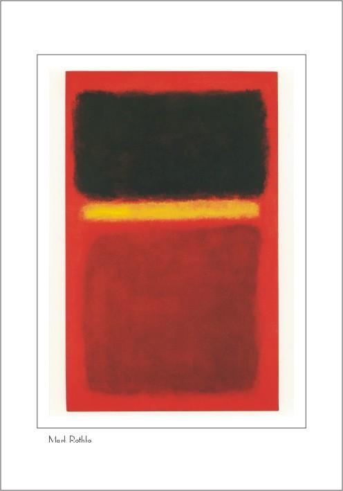 Nr. 0/106 Mark Rothko, ohne Titel 1956