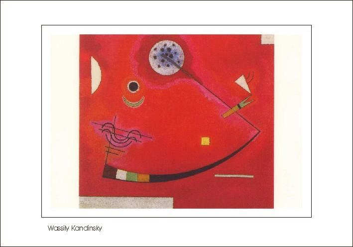Nr. 0/128 Wassily Kandinsky, Gespannt im Winkel, 1930