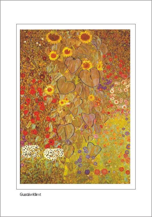 Nr. 0/115 Gustav Klimt, Bauerngarten mit Sonnenblumen, 1907