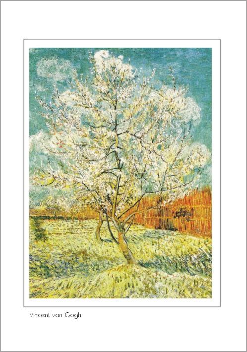 Nr. 0/120 Vincent van Gogh, Blühender Pfirsichbaum