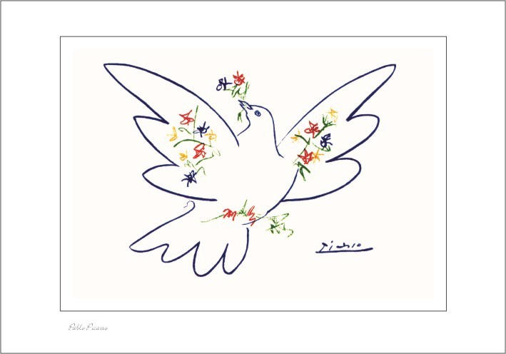 Nr. 0/134 Pablo Picasso, Colombe du Festival de la Jeunesse
