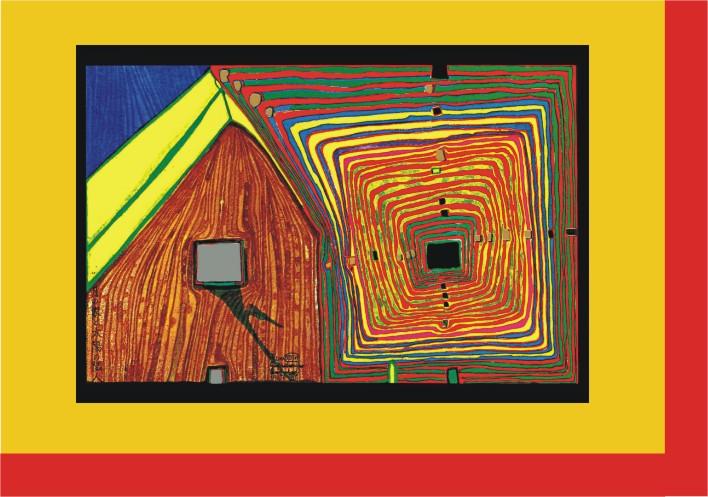 HW 20 Die Nachbarn I - Spiralsonne und Mondhaus 1963