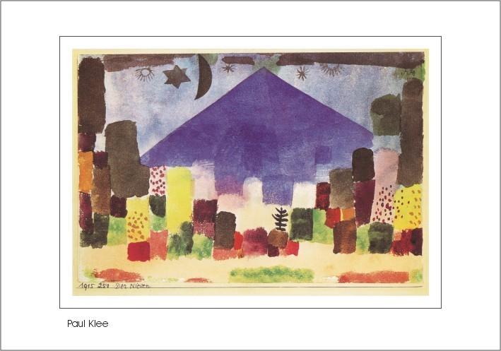 Nr. 0/138 Paul Klee, Der Niesen, 1915