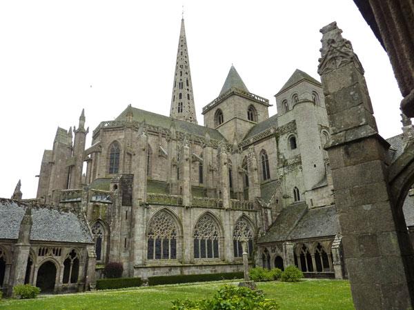 Tréguier, la cathédrale