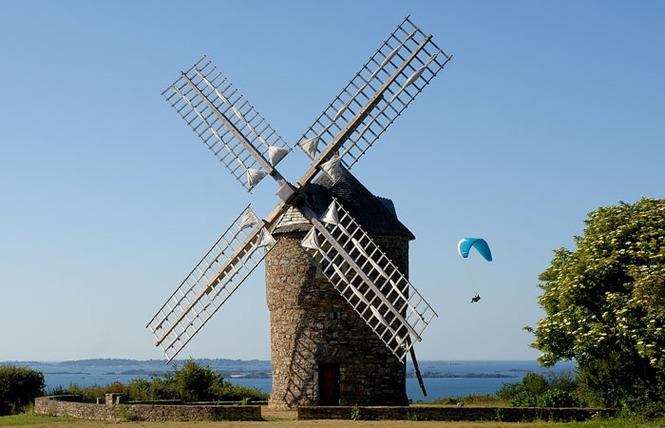 Plouézec, le moulin de Craca