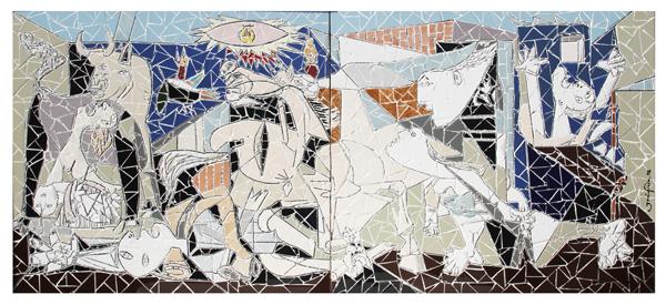 """Guernica"" - 140x65 cm"
