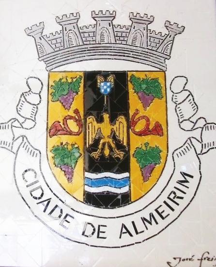 """""""Brasão Cidade de Almeirim"""" - 60x50 cm"""