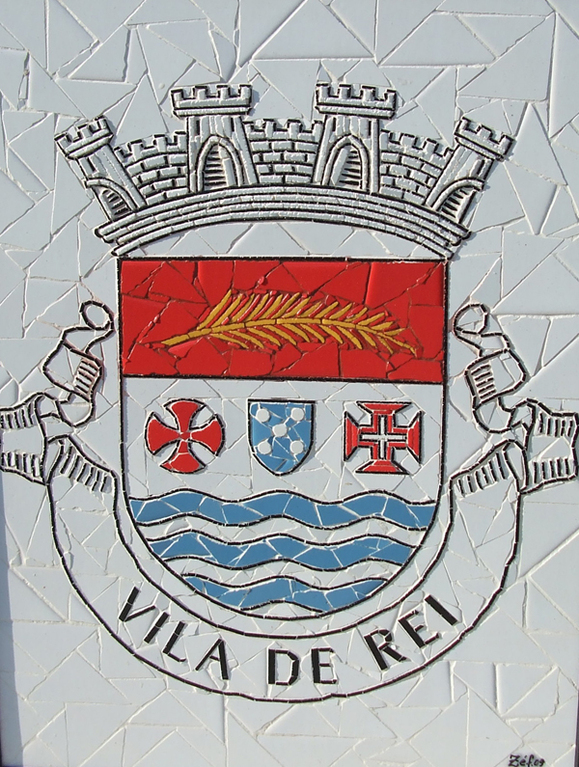 """Brasão Vila de Rei"" - 60x50 cm"