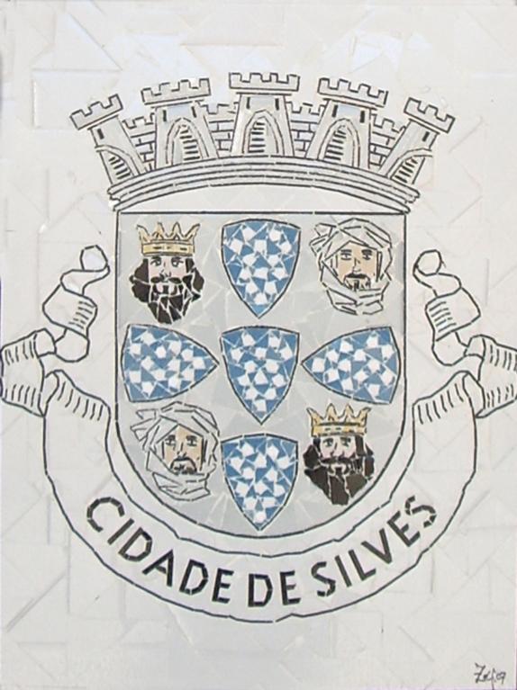 """""""Brasão Cidade de Silves"""" - 60x50 cm"""