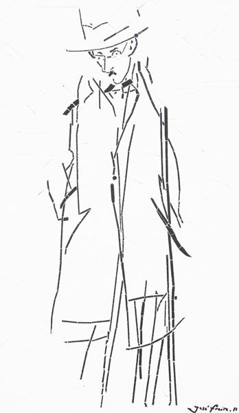 """""""Fernando Pessoa"""" - 81x48 cm"""
