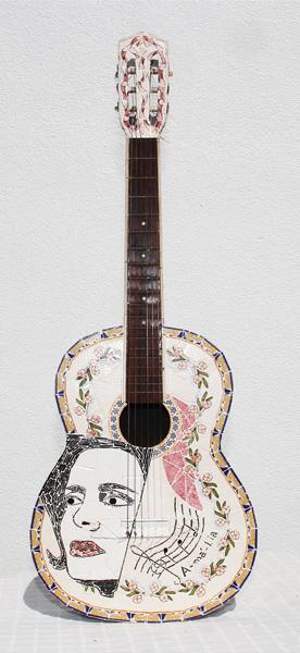 """Viola I""(Frente) - 166x38x10 cm"
