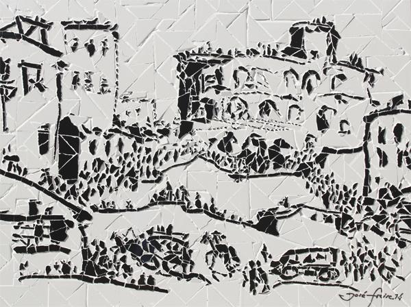 """""""Entrada da Praça de Touros"""" - 80x60 cm"""