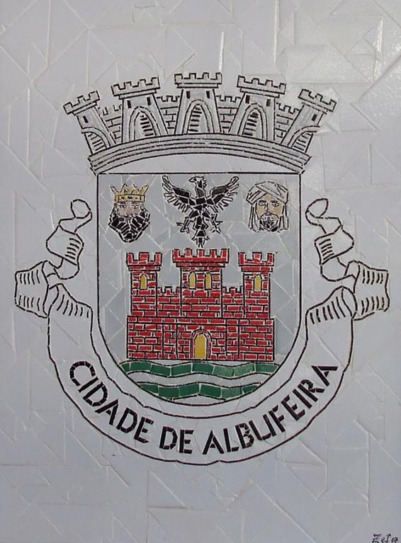 """""""Brasão Cidade de Albufeira"""" - 60x50 cm"""
