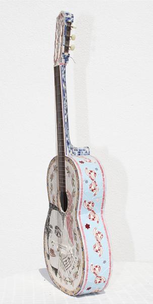 """Viola I""(Lateral) - 166x38x10 cm"