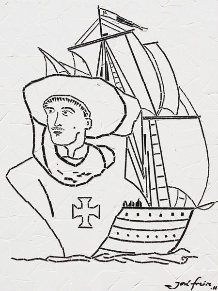 """""""Infante Dom Henrique"""" - 56x42 cm"""