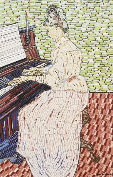 """""""Pianista"""" - 82x55 cm"""