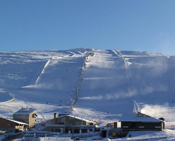 Estación de ski la Covatilla
