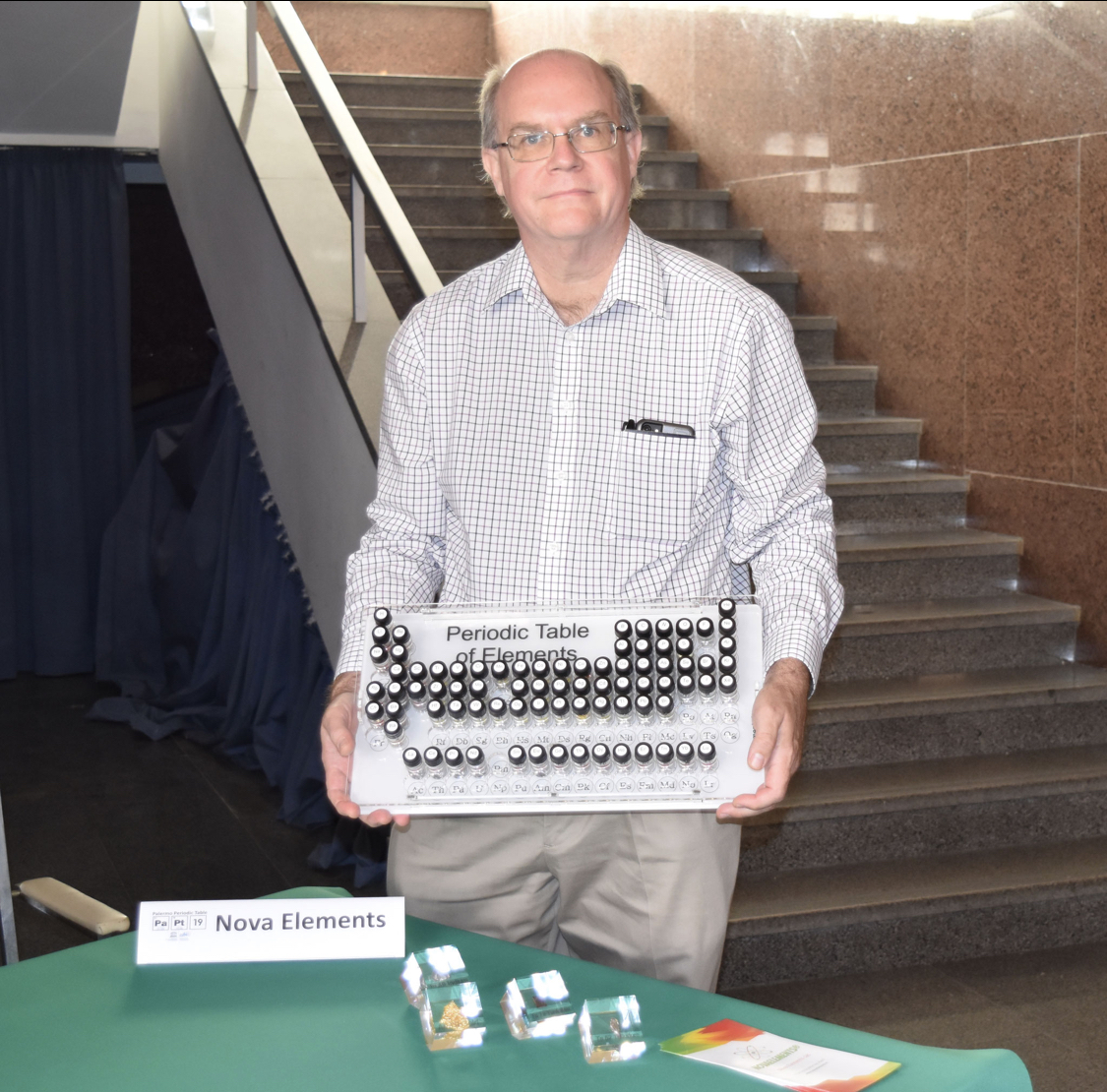 Theodore Gray likes NovaElements Portable Periodic Table