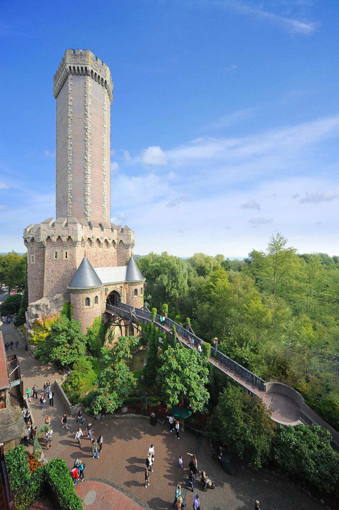 Mystery Castle, Bungee Drop Tower - weltweit einmalig
