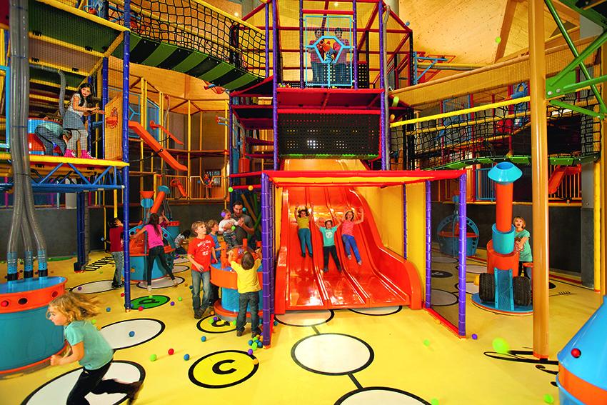 Gaudi-Viertel bietet Spielmöglichkeiten ohne Grenzen auf 1.000 qm